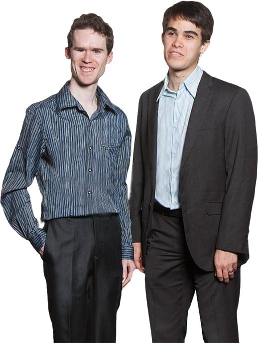 Michael Curran dan James Teh